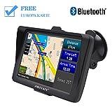AWESAFE Auto Navigation GPS 7 Zoll Touchscreen Navigationsgerät Navigationsystem mit Lebenslangen...