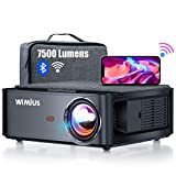Beamer, WiMiUS 7500 L Full HD 1080P WiFi Bluetooth Beamer Unterstützung 4K Video, LED Heimkino...