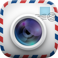 Gratis-App Postkarte für iPhone oder Android-Smartphone