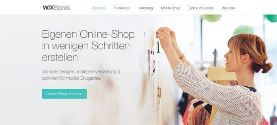 Onlineshop mit WixStores erstellen