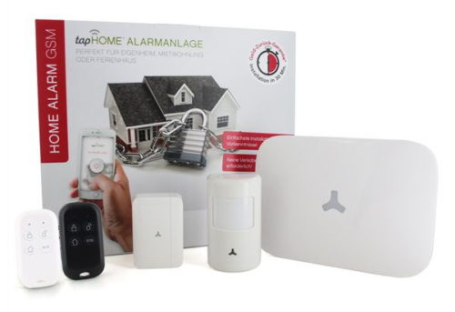 HOME ALARM GSM von tapHOME