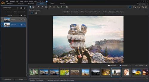 CyberLink PhotoDirector 9 Blending Modes