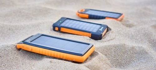 Solar-Powerbanks von XLayer