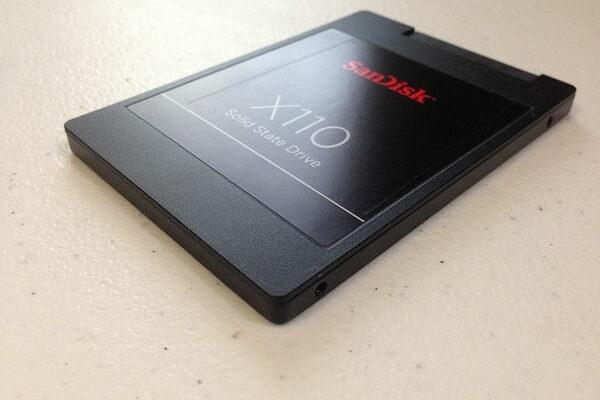 SSD-Festplatte von SanDisk