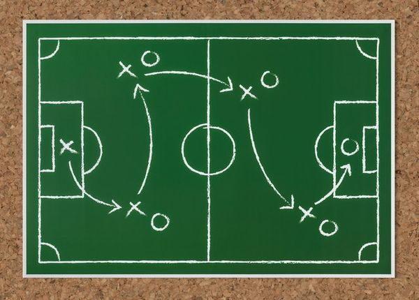 Taktik beim Fußball