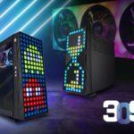 InWin 309 ATX-Gehäuse mit 144 LEDs in der Front